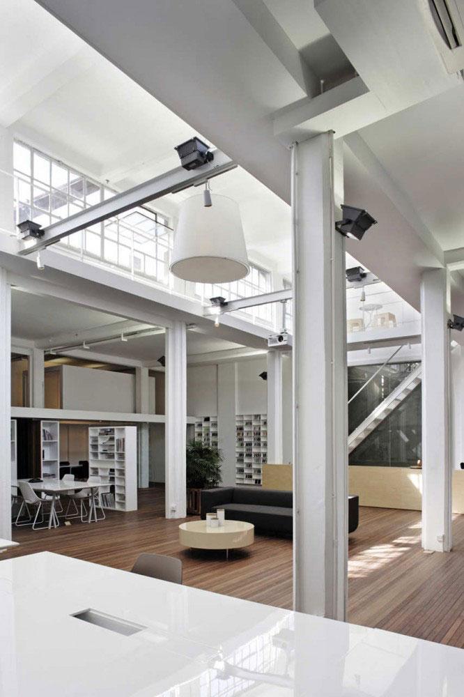 Modern office space design ideas founterior - Interior design office space ...