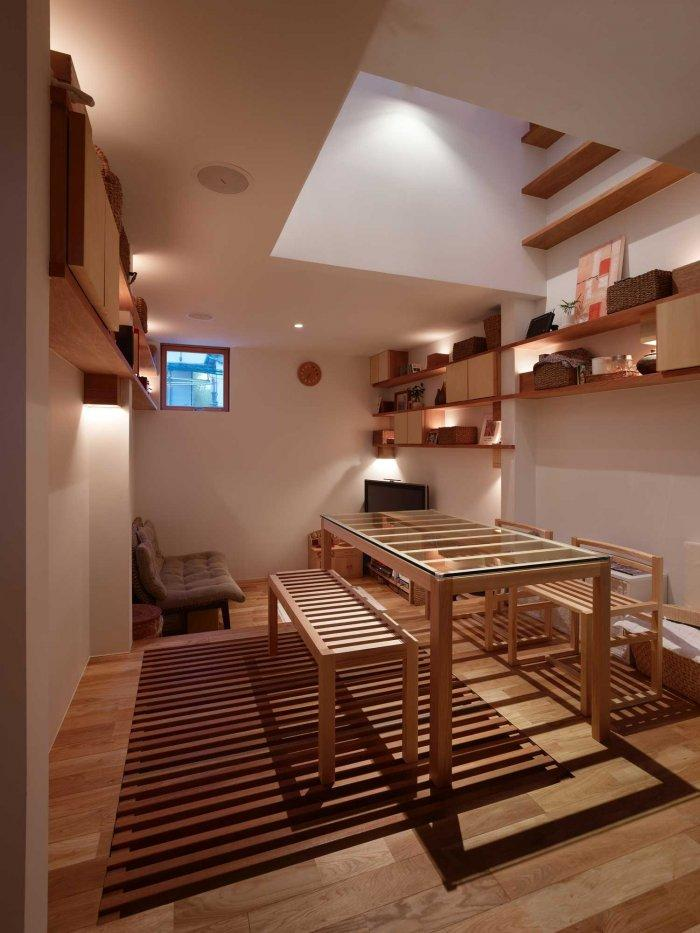 Japanese Minimalist Inside A Tiny House In Nada Japan