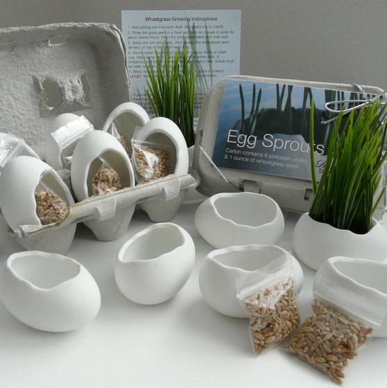 Porcelain-Egg-Planters