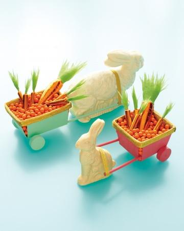 Bunny Carts - Easter Decorating Ideas in Pictures & How-To Examples