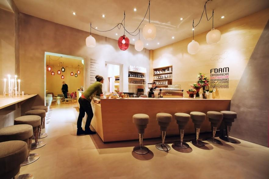 Cafe and coffee shop interior and exterior design ideas founterior - Cafe interior design ...